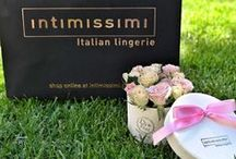 Intimissimi Flower Boxes / Boxes we did for Intimissimi