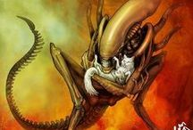 Alliens and Predators