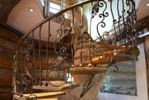 Staircases and Steps / I adore a beautiful stair case / by kerry bateman