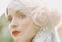 Romantic Wedding Gowns & Veils  / Vintage, Boho and lots of Lace