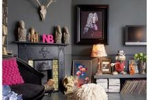 Dark side / Dark walls are dramatic and cosy. Go on, try it.