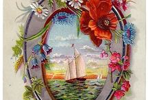 Vintage Greeting & Post Cards / Older style greeting cards / by Sue Clem