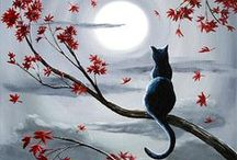 Cat Art / Our favorite pieces of art involving cats. Feline fine art at its finest!