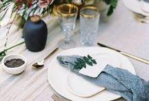 Tabling Glamour / Passion et romantisme s'invitent à table.