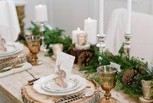 Tabling de Noël / Magie et féerie autour des tables de Noël.
