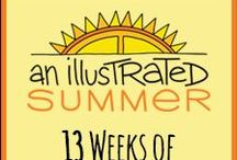 Illustrated Summer / Illustrated Children's Ministry's products and other supporting materials and ideas for the summer season.