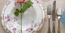 The Ditsy Floral Collection / A beautiful bone china collection form Katie Alice with a pretty vintage floral design in a cute ditsy size.