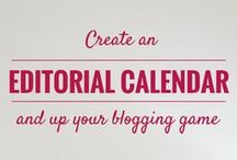 Blogging Scheduling, Time Management and Organization / Blogging Scheduling, Time Management and Organization - tools, hints, tips, and tricks to organize your blogging schedule and improve productivity.