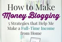 Making Money with Your Blog / Monetization strategies, ideas and examples - helping you to turn your blog into a career!