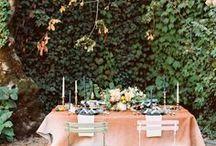 Tabling Printanier / Le printemps, l'occasion de créer un tabling champêtre et coloré