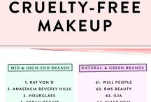 BEAUTY / Cruelty free beauty only - tips and tricks