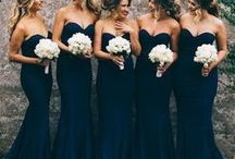 BLACK WEDDINGS / Timelessly elegant noir wedding details perfect for a black-tie affair. Sophisticated and classic wedding elements that create a mood of sheer style.