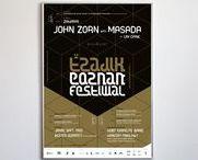 tzadik festival / visual identity for the Tzadik Festival in Poznań