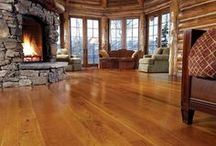 Timber Frame Floors / Find the best wood to go on your timber frame floors.