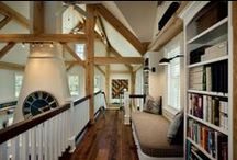 Timber Frame Design Solutions / Design your timber home to fit your family's needs. Find out how to furnish and design each room of your home to fit your personality.