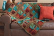 Knit Afghans Kits / Kits to knit a lapghan, coverlet, afghan or blanket for young and old alike.