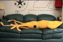 squid plushie