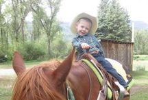 Kid Fun / There is no better place to just 'be a kid' than at a Colorado Dude Ranch.
