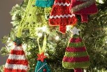 Christmas Ornaments and Decor Ideas / Create beautiful ornaments for your tree, gifts and home to give that personal touch to all that you see and all patterns are free!