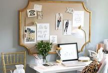 Back 2 School Desk Mood Board / New Desk/Office Area. Bring in light pieces furniture, diy board/cart. Add floral/greenery. Woodsy pieces. Butterflies. Earthy colors with a pop of green or yellow. Organizers. Tray. Need- White desk Cool fuzzy chair. DIY TRAY Butterfly elements laptop filer