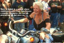 Biker chick... n quotes...I agree