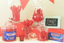 Party / Don't crash the party, be the party! Whether it's your party or your attending a party, make sure Red Vines is apart of it!