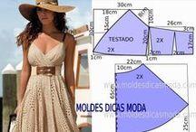 Sukienki - wykroje