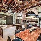 Timber Frame Dining Rooms / Find your dream timber frame dining room here by searching through our home tours so you can draw upon different inspirations for your own design.