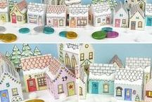 Christmas / Inspiration for Christmas. Christmas craft, DIY projects and decoration ideas.