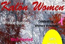 KW Magazine Covers / Click on the link under the cover to go to that issue!  Kalon Women is now on Amazon.com - Click here to Subscribe: https://www.amazon.com/Kalon-Women-Magazine/dp/B01721C4D0