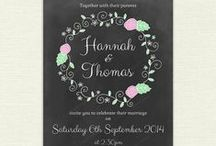 Chalkboard / Chalkboard style printables and craft ideas