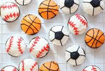 Sport Party + Crafts / Inspiration for sports themed parties and craft projects, including sports themed printables I have designed.