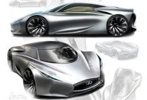 Automotive Design - Exterior / I'm interested in this field of art, limitless innovation.  #HeadLights #LED #TailLights #Projectors are the first details that steal ma eyes.