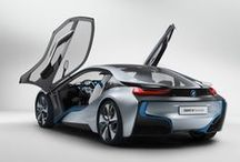 BMW i8 / My Dream-Car. <3 131 HP - 250 NM Electric motor. 231 HP - 320 NM 1.5L Twin Turbo Petrol engine. 6 Speed Auto transmission. Carbon Fiber Body. Full LED lightning system / Laser. Outstanding design ! and much more with a competitive price.