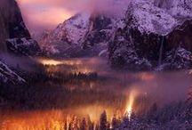 Dreamy landscapes, places
