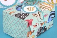 Fish Party + Crafts / Fish and underwater themed party ideas, craft projects and my printable paper designs.