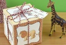 Safari / Safari diy party and craft ideas, safari / zoo animals including my illustrations and printable papers.