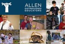 Education Grants for Students & Teachers / Grant opportunities from Allen Distinguished Educators and our education partners