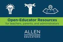 Inspiration for Innovative Educators / Advice and inspiration for innovative teachers by Allen Distinguished Educators.