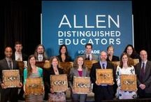 Recognizing Innovative Teachers / Allen Distinguished Educators and DIY Guide Grantees featured in the news