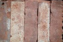Genuine Thin Brick Tiles / We supply genuine thin brick tiles cut from reclaimed bricks www.vintagebricks.com