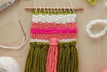 Weaving / Weaving inspiration, tutorials, DIY ideas and projects