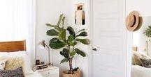 Dream Interiors / Minimal spaces and cosy corners. Pure interior inspo.