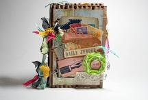 Projects from my blog - Bursts of Creativity / craft and scrapbook projects