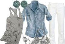 Fashion - Spring & Summer / Spring & Summer fashions gathered by The Simple 66 Gal. Visit my blog at www.simple66gal.com