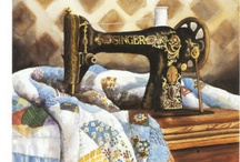 ♥♥Patchwork and Quilts♥♥ / by Jayne Brereton