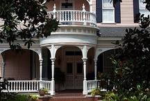 Beautiful Homes & porches / A comfortable lovely porch sets the feeling for the rest of the house! / by Tamara Emerson