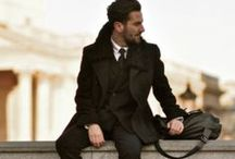 {Dapper | Men's Fashion} / Dapper Dudes / by Helena Hounsel