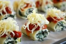 Mini Party Foods / The latest in party food is still the mini....mini bites of great food are replacing large meals or heaping plates of a buffet. Top of the list? Mac 'n cheese bites, poppers, and anything wrapped in bacon!  / by Funsational