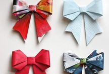 {No Match for the Tiffany's Bow} / Ever since I learned how to wrap the Tiffany's Bow, I've loved finding new and creative ways to wrap presents and gifts for my family and friends! / by Helena Hounsel